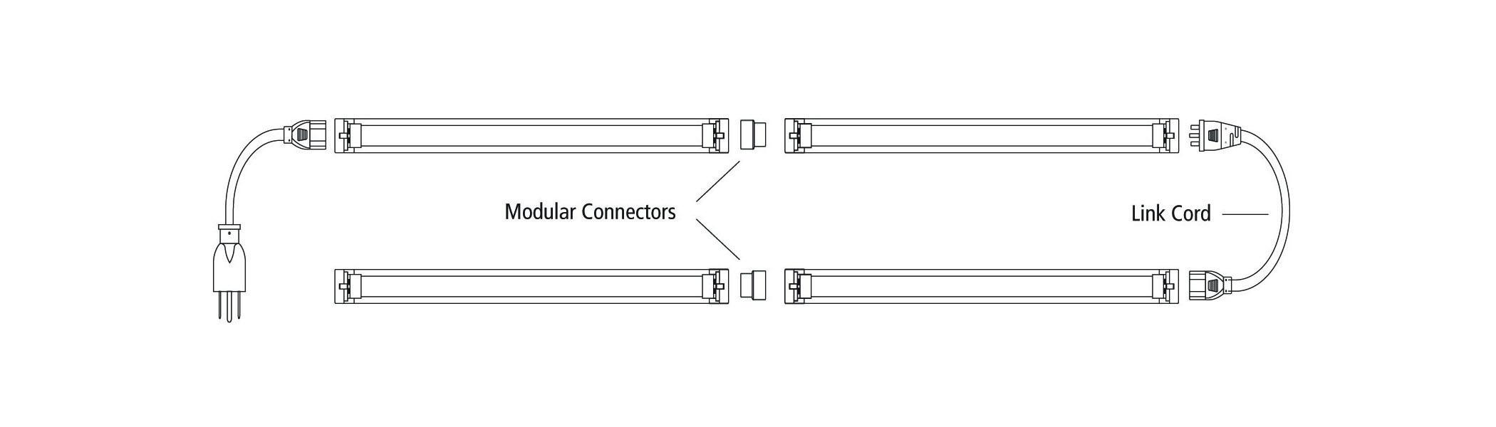 Compact fluorescent black light fixture