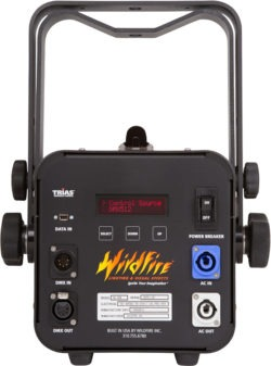 VioStorm incorporates Wildfire's new Trias™ digital intuitive control system.
