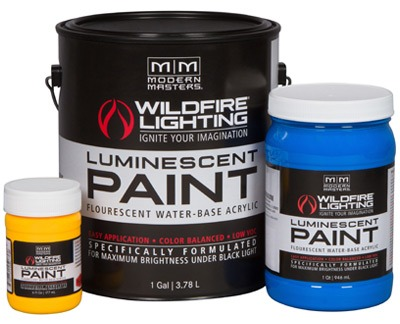 Invisible Luminescent Paint