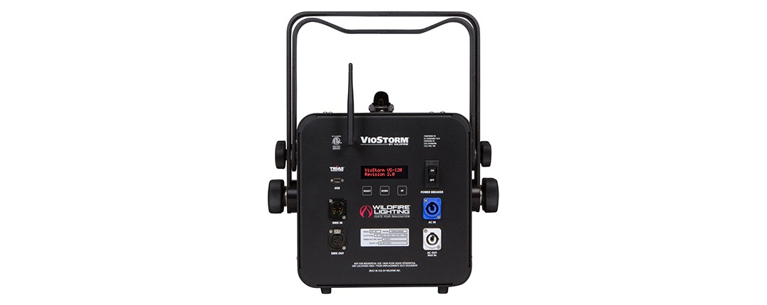 VioStorm® LED Series VS-120 Back