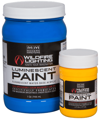 Visible Fluorescent Water Base Acrylic Paint