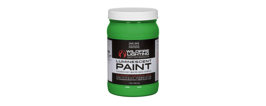 Visible Luminescent Paints Bright Green - Quart