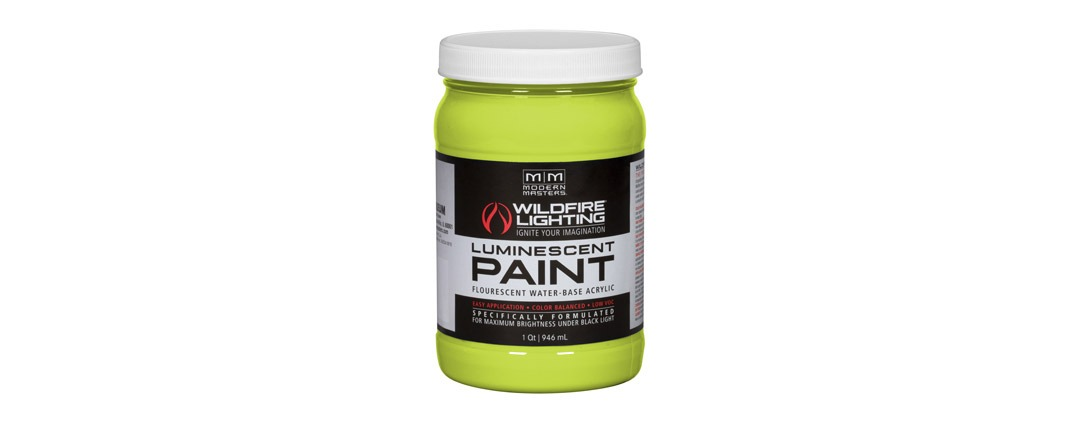 Visible Luminescent Paints Brilliant Yellow - Quart