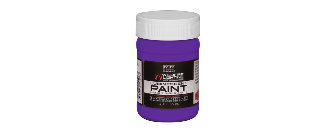 Visible Luminescent Paints Deep Violet - 6oz