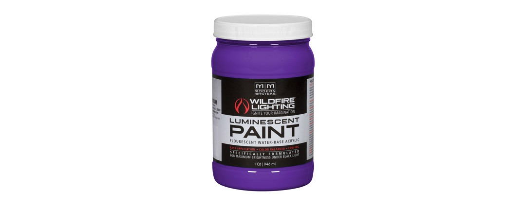 Visible Luminescent Paints Deep Violet - Quart