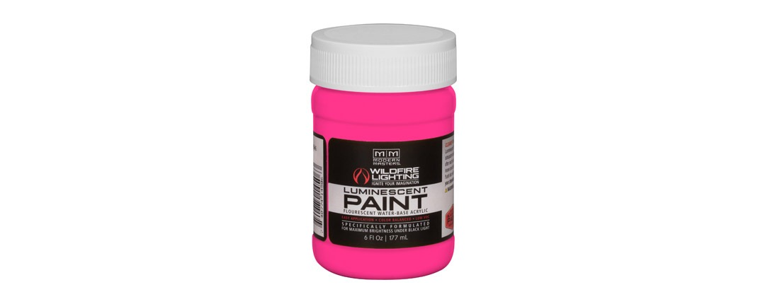 Visible Luminescent Paints Hot Pink - 6oz