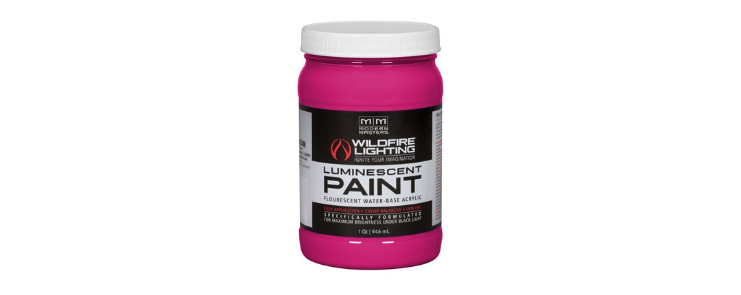 Visible Luminescent Paints Magenta - Quart