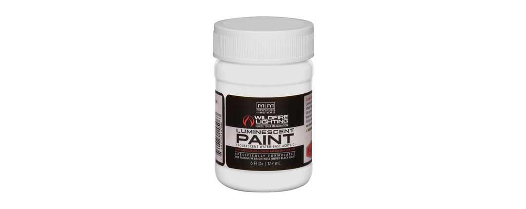 Visible Luminescent Paints Optical White - 6oz