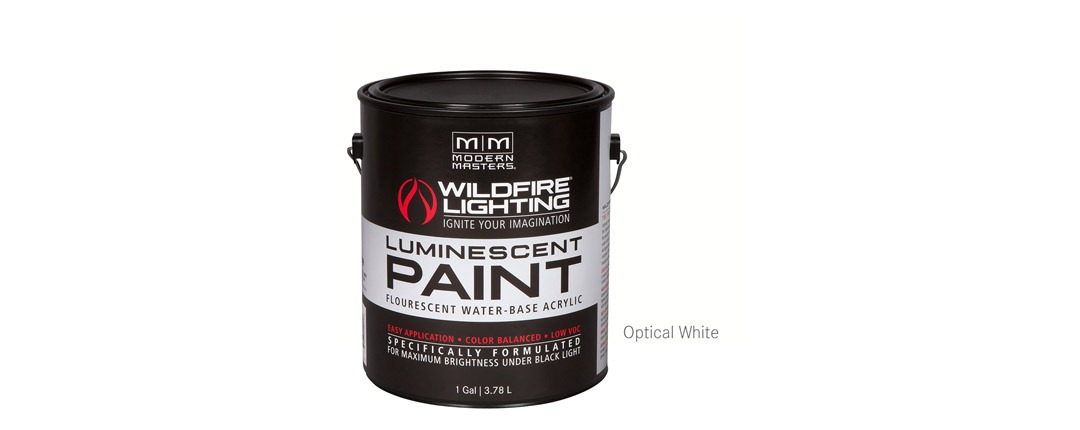 Visible Luminescent Paints Optical White - Gallon