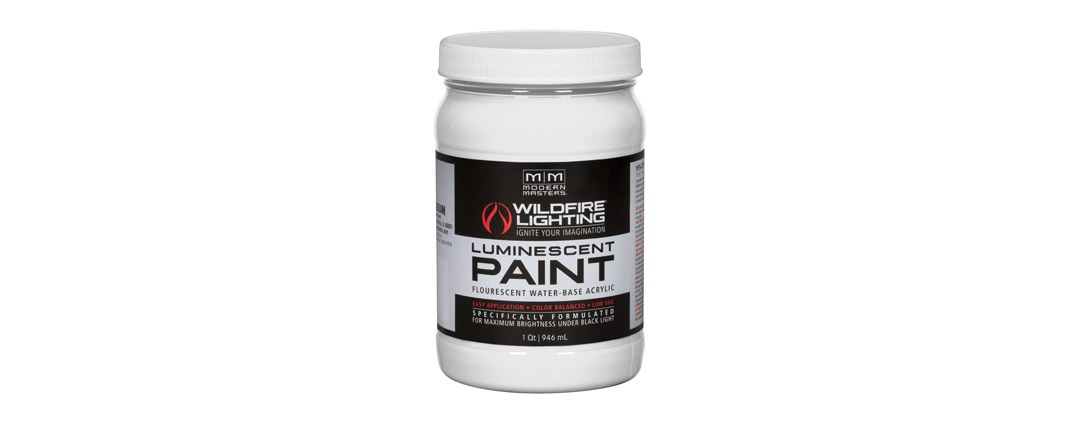 Visible Luminescent Paints Optical White - Quart