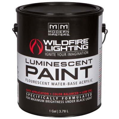 Wildfire Visible Luminescent Paints