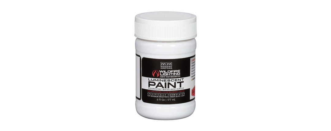 Invisible Luminescent Paints 6oz