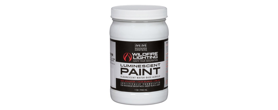 Invisible Luminescent Paints Quart