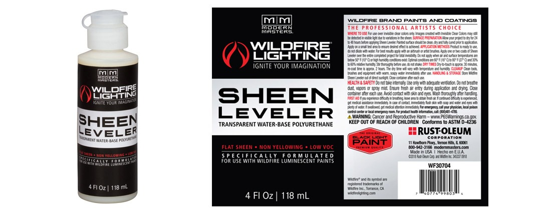 Sheen Leveler Label - 4oz