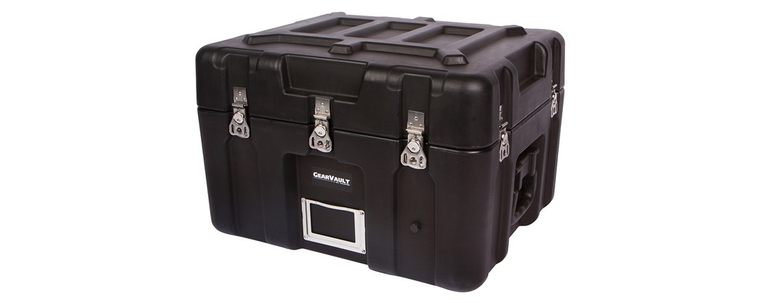 GearVault™ Cases IP65 Rated Rotationally Molded Construction